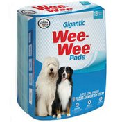 Four Paws Gigantic Puppy Wee-Wee Puppy Housebreaking Pads