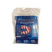"Swimline 36"" Americana Series Stars & Stripes Swim Ring"