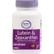 Signature Care Lutein & Zeaxanthin, Softgels