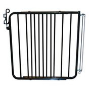 Cardinal Gates Aluminum Auto-Lock Gate in Black