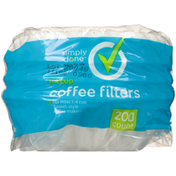 Simply Done 1-4 Cup Coffee Filters