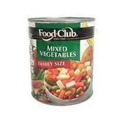 Food Club Mixed Vegetables Family Size