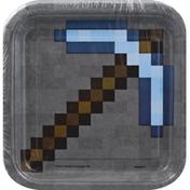 Unique Plates, Minecraft, 6-7/8 Inch
