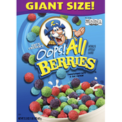 Cap'N Crunch Oops! All Berrienaturally & Artificially Flavored Sweetened Corn & Oat Cereal