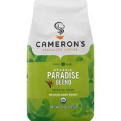 Camerons Coffee, Organic, Whole Bean, Medium-Dark Roast, Paradise Blend