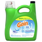 Gain Icy Fresh Fizz Gain with Oxi Boost Coldwater Icy Fresh Fizz Liquid Laundry Detergent