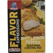 House-Autry Seasoned Coating Mix, Zesty Lemon Pepper
