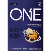 One Protein Bar, Blueberry Cobbler Flavored