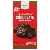 Market Pantry Chocolate, Unsweetened, Baking Squares