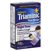 Triaminic Cold & Cough, Night Time, Grape Flavored