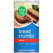 Food Club Bread Crumbs, Plain