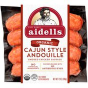 Aidells Smoked Chicken Sausage, Cajun Style Andouille, 12 oz. (4 Fully Cooked L