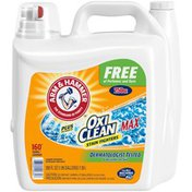 Arm & Hammer Plus Oxiclean Max Free & Clear Liquid Laundry Detergent,