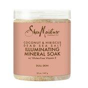 SheaMoisture Illuminating Mineral Soak Coconut And Hibiscus Body Scrub