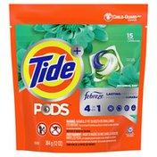 Tide Pods Liquid Laundry Detergent Pacs With Febreze, Botanical Rain