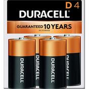 Duracell Coppertop D Alkaline Batteries Primary Major Cells