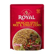 Royal Mexican Style Rice & Street Corn