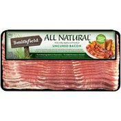 Smithfield All Natural Naturally Applewood Smoked Uncured Bacon