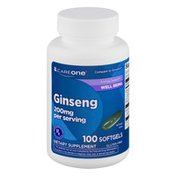CareOne Ginseng 200mg Softgels - 100 CT