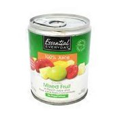 Essential Everyday Chunky Mixed Fruit in 100% Peach & Pear Juice