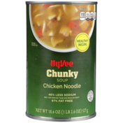 Hy-Vee Soup, Ready to Serve, Chicken Noodle