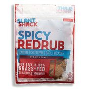 Slant Shack Jerky Beef Spicy Red Rub Grass Fed