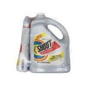 Stain Remover Shout Triple-Acting Liquid Refill (128 oz.) + Shout Trigger Triple-Acting