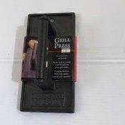 Charcoal Companion Rectangular Cast-Iron Grill Press
