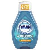 Dawn Platinum Dish Spray, Dish Soap, Citrus Scent Refill