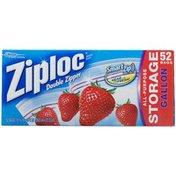 Ziploc Double Zipper All Purpose Storage Bags