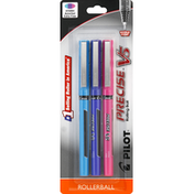 Pilot Pens, Rolling Ball, Assorted, Extra Fine