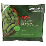 Hy-Vee Steam Quick, Edamame Soybeans In The Pod