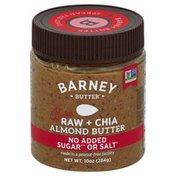 Barney Butter Almond Butter, Raw + Chia