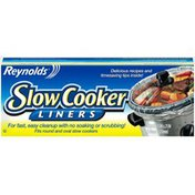 Reynolds Slow Cooker Liners 13 in. x 21 in.--330mm x 533mm Slow Cook Liners--Doublures pour Mijoteuse