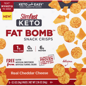 SlimFast Snack Crisps, Real Cheddar Cheese