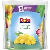 Dole Mango Chunks Frozen Fruit