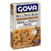 Goya Rice & Pinto Beans with Green Chiles and Tomatoes