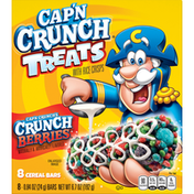 Cap'n Crunch's Cereal Bars, Crunch Berries, 8 Pack