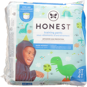 Honest Tea Training Pants, Dinosaurs, 3T 4T (32-40 lbs)