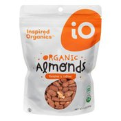 Inspired Organics Almonds, Organic, Roasted & Salted