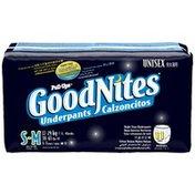 GoodNites Unisex Small/Medium Night Time Underpants