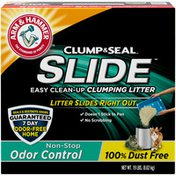 Arm & Hammer Slide Easy Clean-Up Litter, Non-Stop Odor Control,