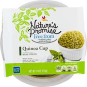 Nature's Promise Quinoa Cup Basil Pesto