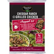 Taylor Farms Cheddar Ranch with Grilled Chicken Chopped Salad Kit
