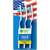 Oral-B Healthy Clean Soft Toothbrush Count, Manual Oral Care