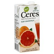 Ceres 100% Fruit Juice Blend, Ruby Grapefruit