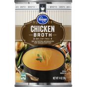 Kroger Broth, 99% Fat Free, Chicken