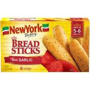 New York Bakery Bread Sticks with Real Garlic