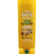 Garnier Fructis Conditioner, Fortifying, Triple Nutrition, Dry to Very Dry Hair