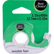 Best Choice Invisable Tape 1/2 450